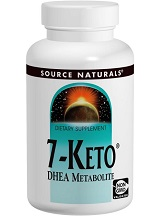 Source Naturals 7-Keto DHEA Metabolite Review