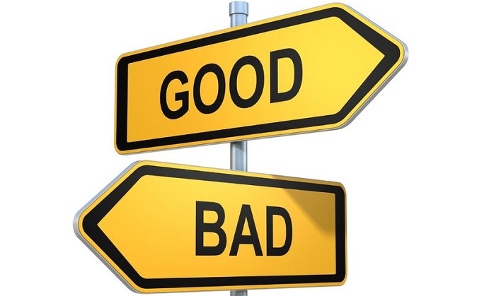two road signs - good or bad choice