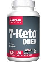 Jarrow Formulas 7-Keto DHEA for Weight Loss