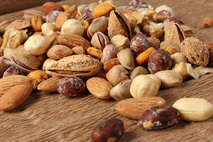 Nuts for a keto-friendly trail mix